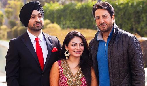 Gurdas Maan Ji very excited with the company of Neeru