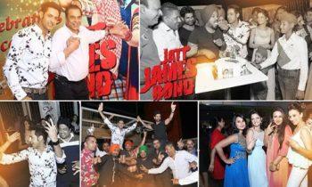 Jatt James Bond succeeded all over, Team organised success party