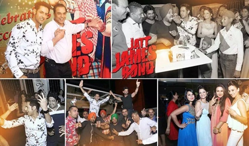 Jatt James Bond Sucess Party