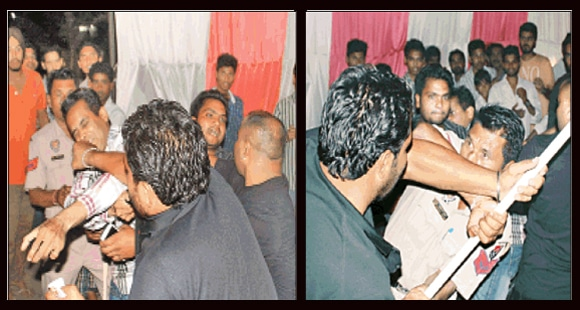 Jazzy B Bouncer Attack on Audience