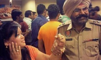 Bharti Arrested by Punjab Police