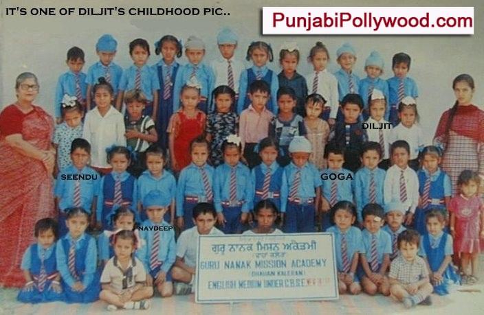 Diljit Childhood Photos 05
