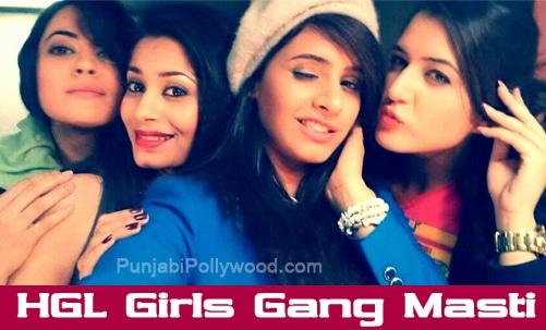 hHappy Go Lucky Girls Gang Selfie