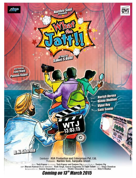 What the Jatt Poster