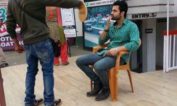 Ishq Vich Movie Shooting Pic
