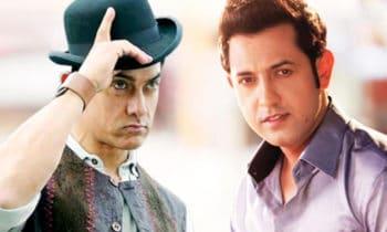 Gippy Grewal with Aamir Khan