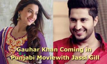 gauhar khan with jassi gill