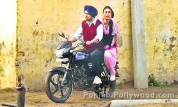 Bollywood Actress Kareena Kapoor enjoyed Bike Riding With Diljit Dosanjh