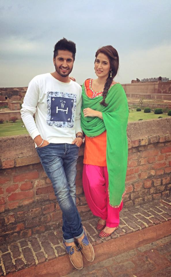 Jassi Gill With Sagarika Ghatge