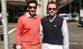 Amitoj Mann and Harbhajan Mann