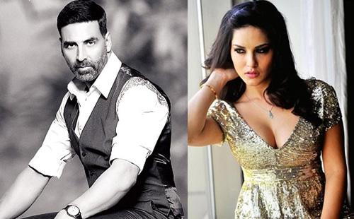 Akshay Kumar and Sunny Leone in Bollywood Movie