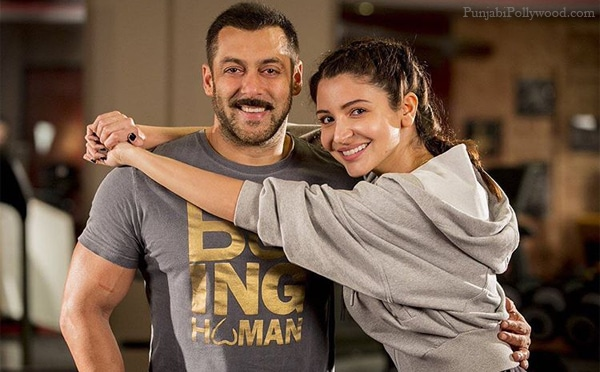 Anushka Sharma With Salman Khan Sultan