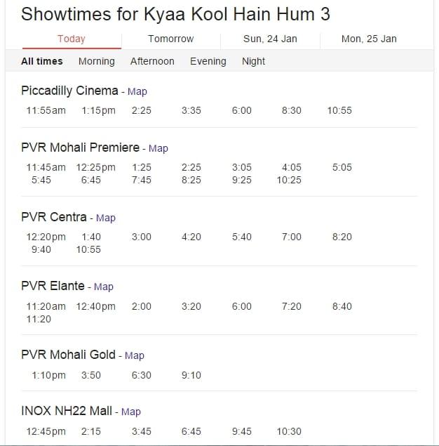 Show timing of Kyaa Kool Hain Hum 3