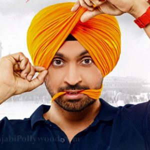 diljit dosanjh tubran look in ambarsariya movie