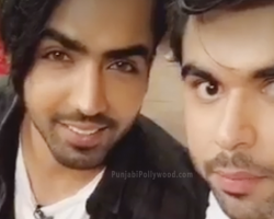 Hardy Sandhu and Ninja in Comedy Nights Bachao