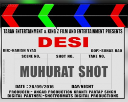 'DESI' The First Bilingual Film by Pollywood