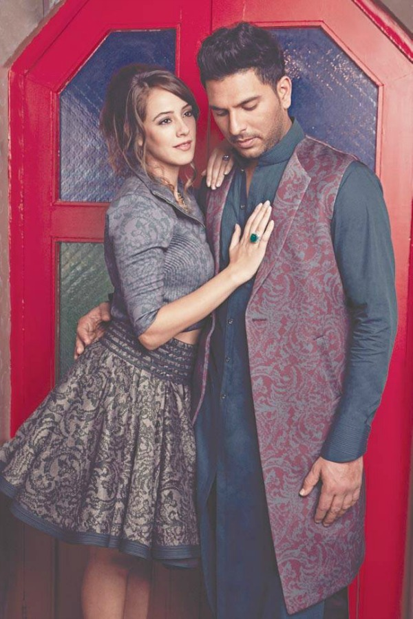 hazel keech and yuvraj singh wedding