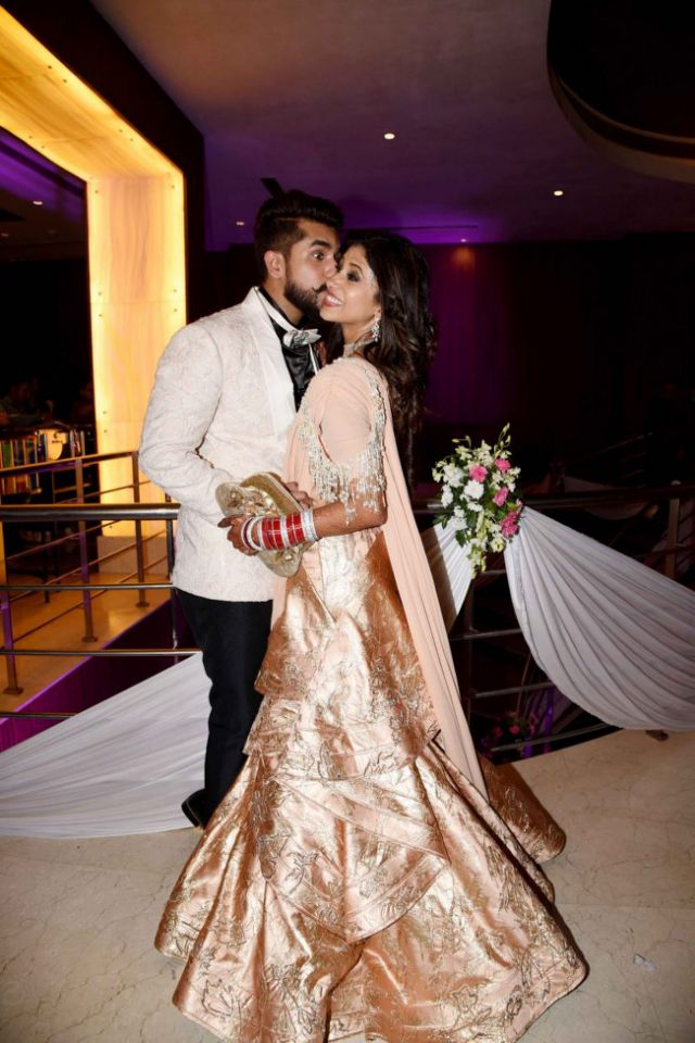 Kishwar Merchant and Suyyash Rai's marriage Pics