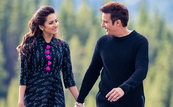 Jimmy Sheirgill and Sargun Mehta in Jindua movie