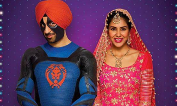 What's special about Diljit's dress in Super Singh