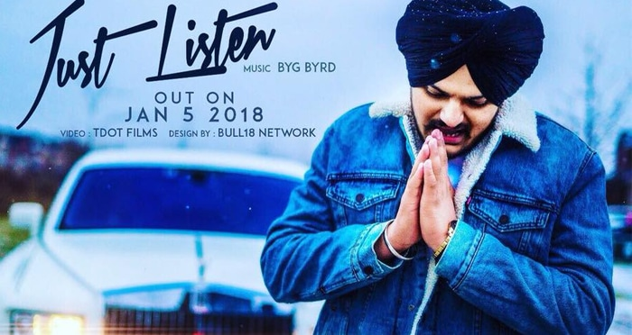 just listen song 2018 by sidhu moosewala