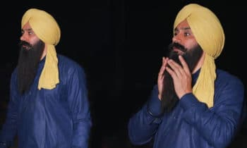 babbu maan in turban look