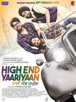 high end yaariyaan punjabi movie 2019