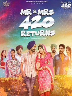 mr and mrs 420 return punjabi movie 2018