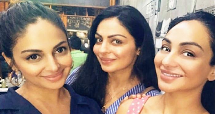 Neeru Bajwa sisters