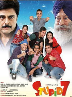 stupid 7 punjabi movie 2013