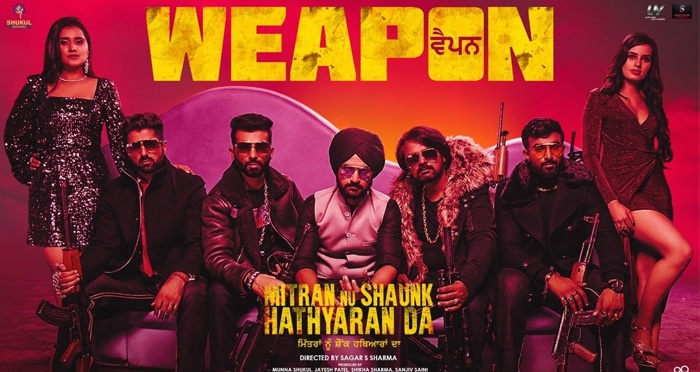 weapon punjabi movie song 2019