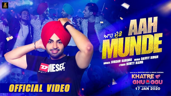 aah munde new punjabi song by jordan sandhu video lyrics