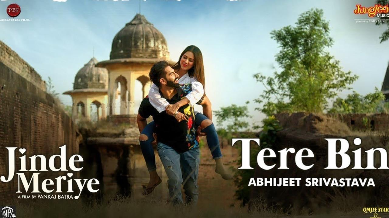 tere bin song Abhijeet Srivastava video lyrics jpg