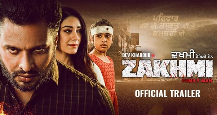 zakhmi trailer dev kharoud