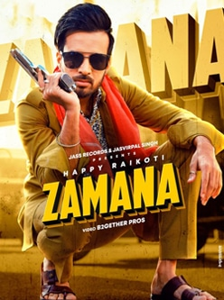 zamana song lyrics happy raikoti