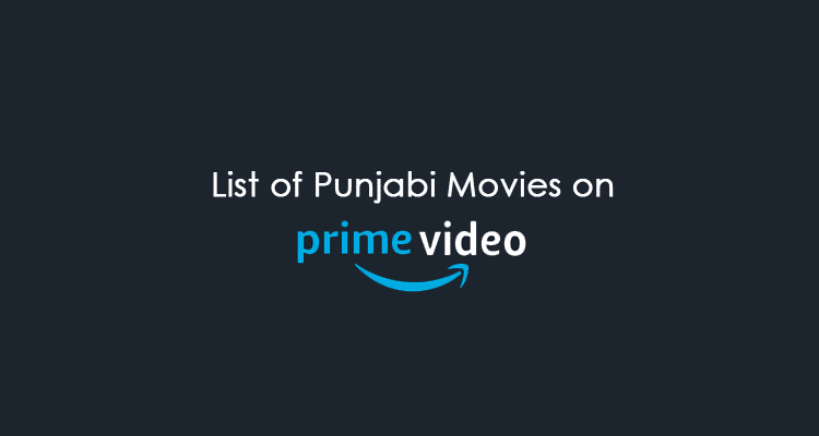 punjabi movies on amazon prime video