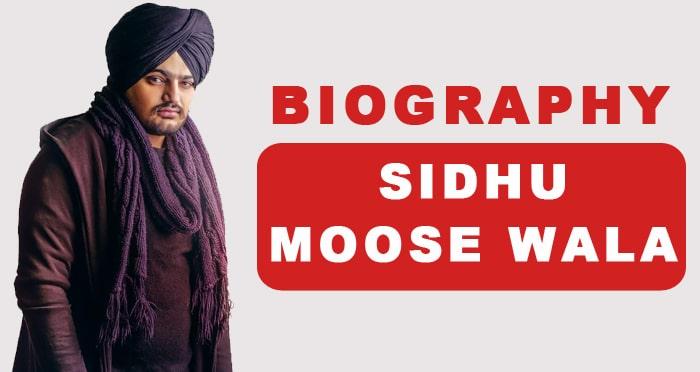 biography sidhu moose wala