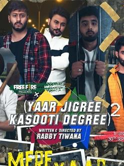 yaar jigree kasooti degree season 2 punjabi web series