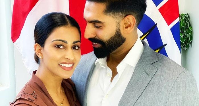 guneet grewal parmish verma wife